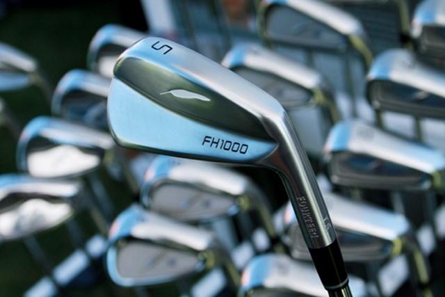 ギアニュース 2013年 PGAマーチャンダイスショー デモデー FH1000アイアンは今年の8月登場予定の上級者用ブレードモデル