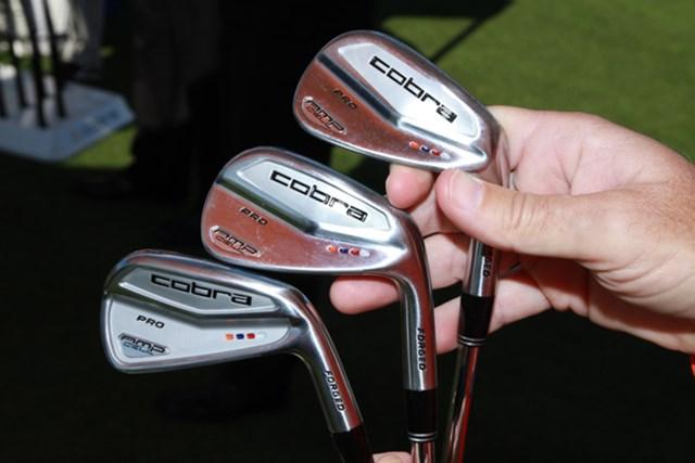 ギアニュース 2013年 PGAマーチャンダイスショー デモデー リッキー・ファウラーが使用するプロ用のブレードモデル