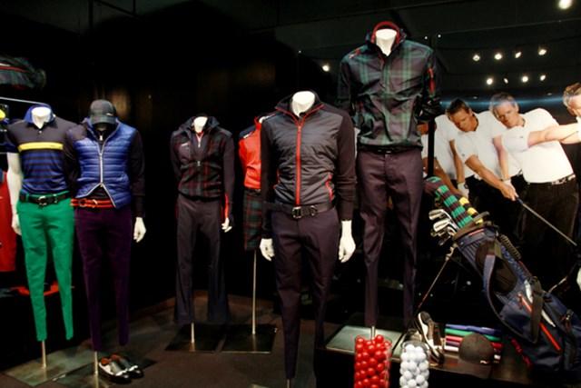 ポロラルフローレンのハイエンドライン。PGAツアーではルーク・ドナルドが着ている