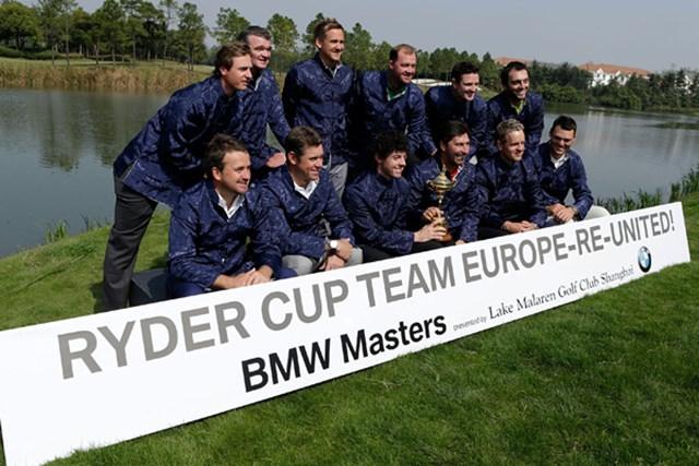 ロリー・マキロイをはじめとして、大半の選手が欧米両ツアーのシード権を確保している欧州のトップ選手たち。(Scott Halleran/Getty Images)