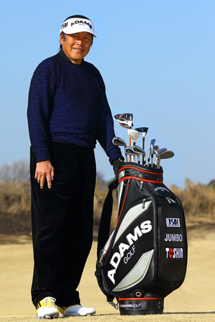2013年 ニュース 尾崎将司 今季からテーラーメイドと契約、アダムスゴルフの用品で戦うジャンボ尾崎
