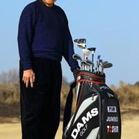 今季からテーラーメイドと契約、アダムスゴルフの用品で戦うジャンボ尾崎 2013年 ニュース 尾崎将司