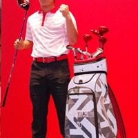 プロデビューを控えた今季、ナイキゴルフと契約した17歳の伊藤誠道。 2013年 ジャパンゴルフフェア 伊藤誠道