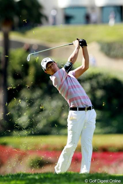 2013年 ノーザントラストオープン 2日目 石川遼 今季初の決勝ラウンドに進んだ石川遼。ツアー本格参戦初年度の苦しみを象徴するかのような流れだった。