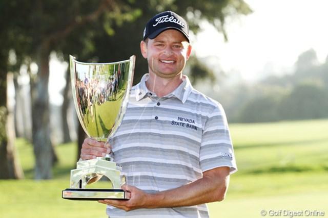 2013年 ノーザントラストオープン 最終日 ジョン・メリック 優勝したのは地元UCLA出身のメリック