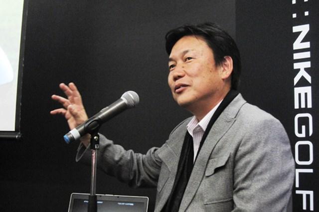 ナイキゴルフ ボール開発担当ディレクター ロック石井氏