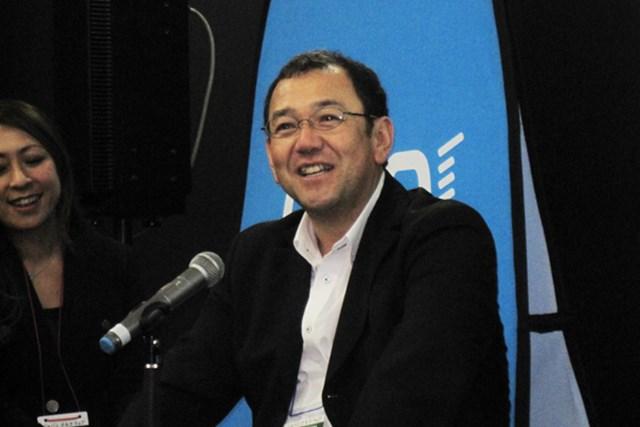マル秘ネタ満載!?ナイキ トークイベント プロゴルファー タケ小山氏。現在はコメンテーターやラジオDJとして活躍中