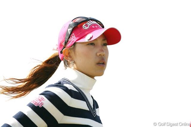 2007年 全英リコー女子オープン 3日目 上田桃子 2日続けて順位を落としてしまった上田桃子。最終日の巻き返しに期待!