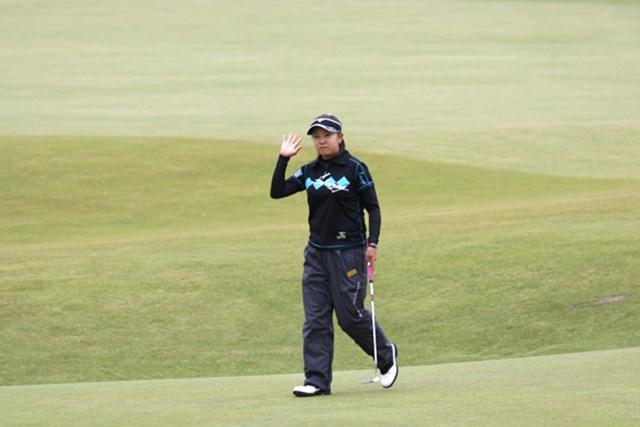 2007年 全英リコー女子オープン 最終日 佐伯三貴 初メジャーで7位タイ!来年度の出場権まで獲得した佐伯三貴