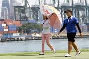 2013年 HSBC女子チャンピオンズ 2日目 アリヤ・ジュタナガン&チェ・ナヨン