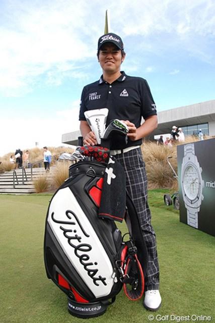 2013年 ニュージーランドPGA選手権 最終日 武藤俊憲 ニュージーランドでの試合を終えた武藤俊憲。「仕事ではなくて休暇で訪れたかったと思わせる場所でした」