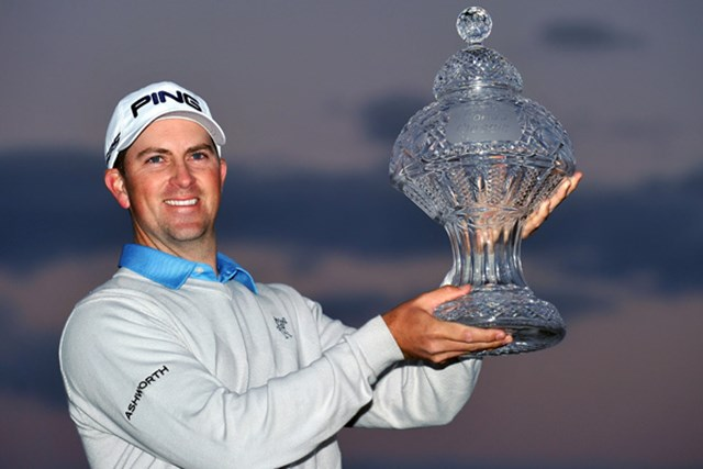 2013年 ザ・ホンダクラシック 最終日 マイケル・トンプソン 難コースを攻略しツアー初優勝を果たしたマイケル・トンプソン(Stuart Franklin/Getty Images)