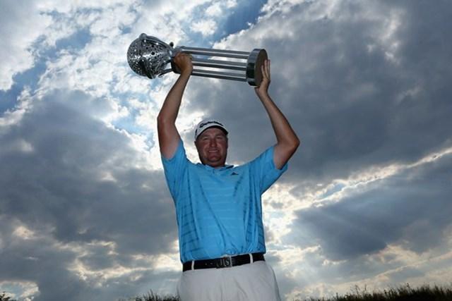 地元南アフリカのダウィー・バンデウォルトがツアー初優勝を果たす(Getty Images)