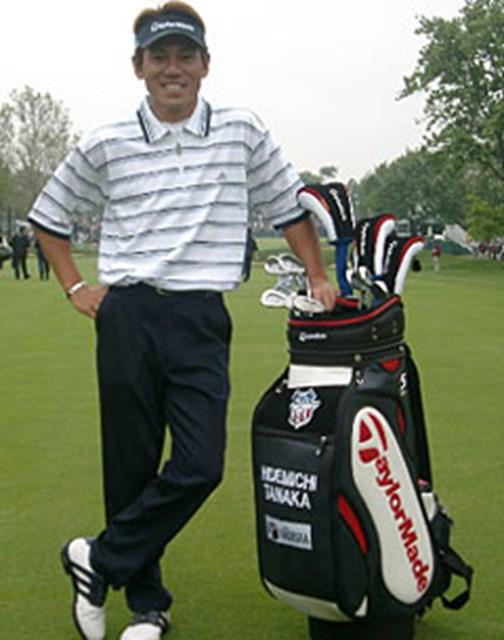 2003年 全米オープン 初日 田中秀道 丸山、谷口は苦しいスタートを切った。好スタートを切った田中には、日本人ファンの期待がかかる。