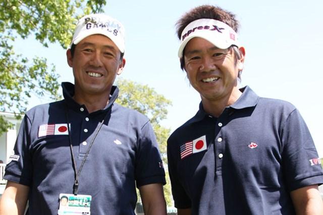 """メジャーの舞台では揃いのウェアで""""チーム""""意識を高めた芹澤と藤田。今年はもっと晴れやかな2人の笑顔が見たい"""