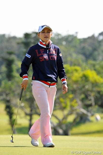 2013年 ダイキンオーキッドレディスゴルフトーナメント 事前 横峯さくら プロ入り10年目のシーズンを迎える横峯さくら