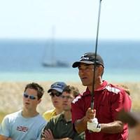 48才のベテラン友利勝良の全英は16オーバー69位で幕を閉じた(写真/BEYONDSHIP) 2003年 全英オープン 最終日 友利勝良