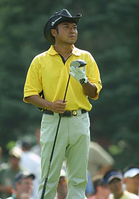 2003年 全米プロゴルフ選手権 2日目 片山晋呉 片山晋呉(写真/BEYONDSHIP)