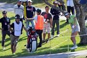 2013年 ダイキンオーキッドレディスゴルフトーナメント 2日目 金田久美子
