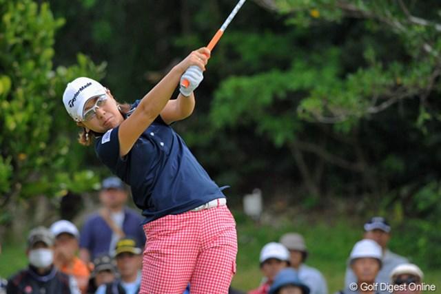 やっぱり沖縄最強の女は「世界のミカドン」でありました。4アンダーと伸ばして12位タイのフィニッシュです。