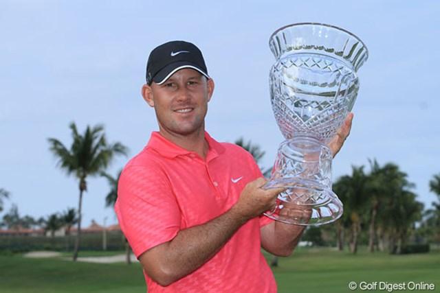 2013年 プエルトリコオープン 最終日 スコット・ブラウン PGAツアー初優勝を飾ったスコット・ブラウン。「夢が叶った」と喜んだ