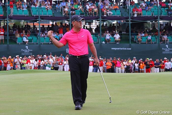最終ホールに逆転し、PGAツアー初優勝を飾ったスコット・ブラウン 2013年 プエルトリコオープン 最終日 スコット・ブラウン