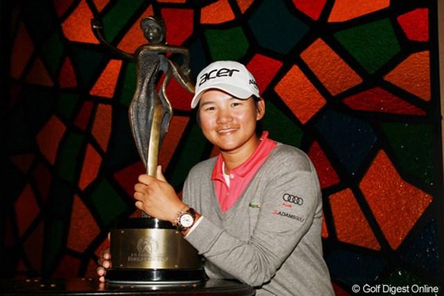 2013年 RRドネリー LPGA ファウンダーズカップ 事前情報 ヤニ・ツェン 昨年大会は日没前後のコースで決着!女王ヤニ・ツェンが力強さを見せた。