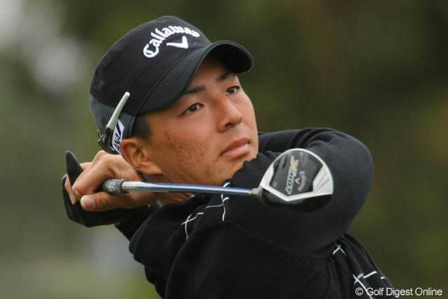 キャロウェイの新しい契約プロとなった石川遼。話題の300ヤード・スプーンにはとりわけ好感触を持ったようだ。