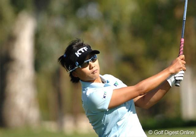 2007年 クラフトナビスコチャンピオンシップ 事前情報 金美賢 今や韓国勢のリーダー的存在となった金美賢。メジャータイトルが欲しい選手の1人だ