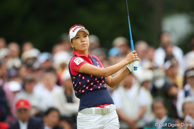 クリスタルガイザーレディスゴルフトーナメント最終日 苦しい時期にどれだけ頑張れるかが勝負!桃子、頑張れ!