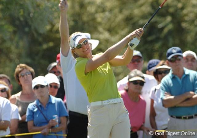 2007年 クラフトナビスコチャンピオンシップ 2日目 アニカ・ソレンスタム どうしたアニカ!? 51位タイとらしくないプレーが続く