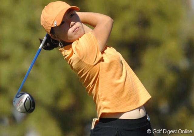 2007年 クラフトナビスコチャンピオンシップ 2日目 アンジェラ・パーク 18歳のアンジェラ・パークはブラジル生まれの韓国系アメリカ人