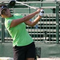 初日イーブンパーで粘った金美賢も2日目17番までに3オーバーと苦戦中 2007年 全米女子オープン 2日目 金美賢