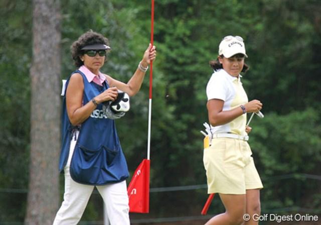 2007年 全米女子オープン 3日目 フリエタ・グラナダ 今季は好不調の波があるフリエタ・グラナダ。今週は優勝争いにしっかり加わった