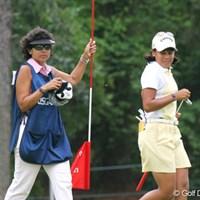 今季は好不調の波があるフリエタ・グラナダ。今週は優勝争いにしっかり加わった 2007年 全米女子オープン 3日目 フリエタ・グラナダ