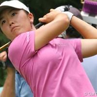 予選2日間を唯一60台でラウンドしたアンジェラ・パーク。第3ラウンドは1オーバーペースで暫定2位タイに後退 2007年 全米女子オープン 3日目 アンジェラ・パーク
