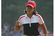 2007年 全米女子オープン 最終日 フリエタ・グラナダ