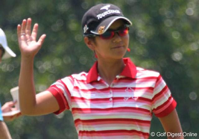 2007年 全米女子オープン 最終日 宮里藍 最終日にスコアを伸ばせるのが、LPGAを通年で戦う宮里藍の強さだろう