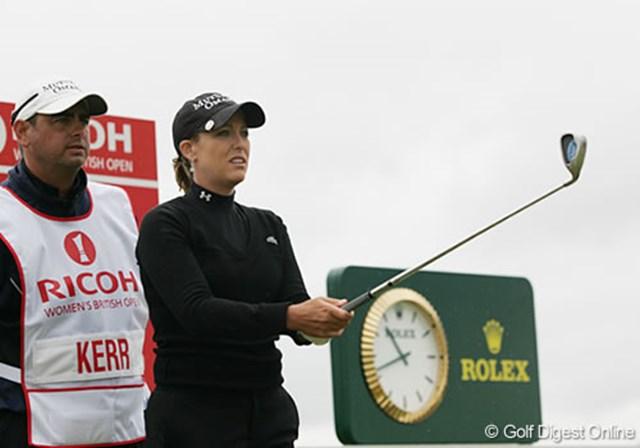 2007年 全英リコー女子オープン 事前情報 クリスティ・カー 今季の全米女子オープンで悲願のメジャータイトルを手にしたクリスティ・カー。全英と2大オープン競技の制覇に挑む