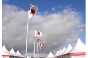 2007年 全英リコー女子オープン 3日目 強烈な風
