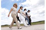 2007年 全英リコー女子オープン 3日目 女性ギャラリー