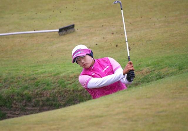 2007年 全英リコー女子オープン 最終日 J.Y.リー 最終日に2ストローク伸ばし、通算1アンダーでマリア・ヨース(スウェーデン)と並び2位タイに食い込んだ韓国のJ.Y.リー