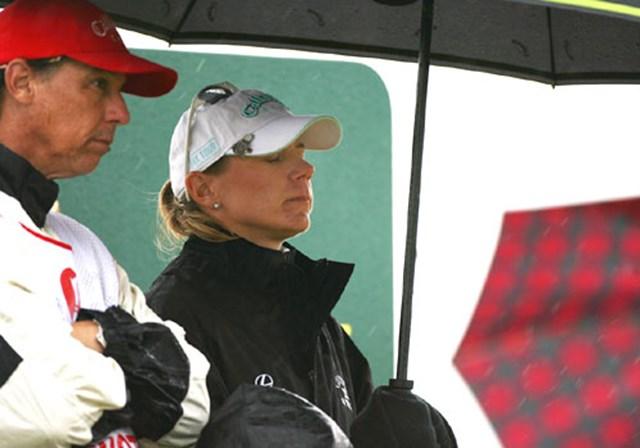 2007年 全英リコー女子オープン 最終日 アニカ・ソレンスタム 序盤スコアを伸ばし追撃体制に入るかと思われたが、中盤スコアを崩し意気消沈のアニカ・ソレンスタム