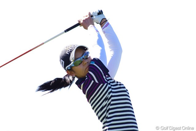 2013年 RRドネリー LPGA ファウンダーズカップ 事前 宮里藍 「今は自分のゲーム感覚を取り戻すのが最優先」と、いつもよりプレーを多めにこなしていた