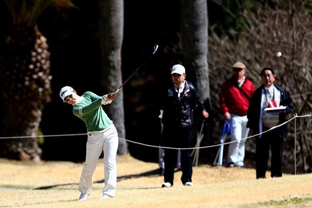 2013年 ヨコハマタイヤゴルフトーナメントPRGRレディスカップ 初日 菊地絵理香 エリカ様の初日は3アンダー6位T