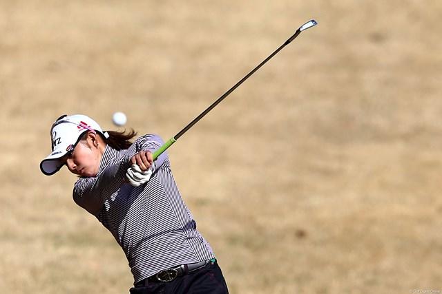 2013年 ヨコハマタイヤゴルフトーナメントPRGRレディスカップ 初日 斉藤愛璃 先週予選落ち、今週は攻めのゴルフで2アンダー13位T