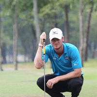 大会連覇を狙うクリス・ウッドは2日間安定したゴルフで暫定5位タイ 2013年 タイランドオープン 2日目 クリス・ウッド
