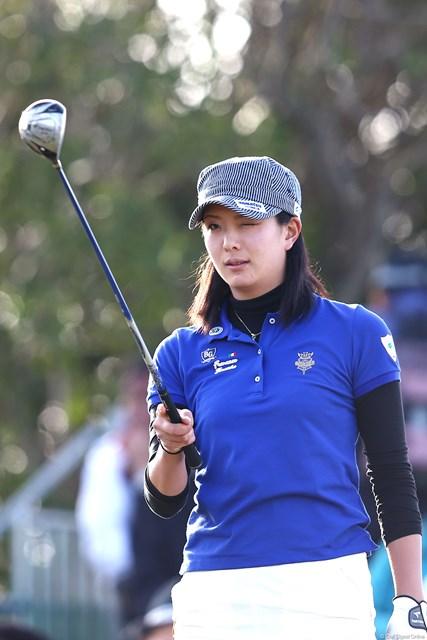 2013年 ヨコハマタイヤゴルフトーナメントPRGRレディスカップ 2日目 高島早百合 1オーバースタートから3アンダーまでスコアを伸ばしてきた美人ゴルファーです 13位T