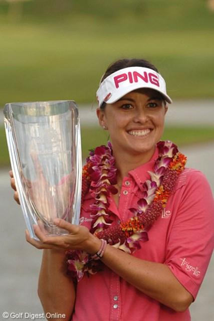 フィールズ・オープンin Hawaii最終日 バーディ合戦を制し、ツアー2勝目を果たしたステイシー・プラマナスド