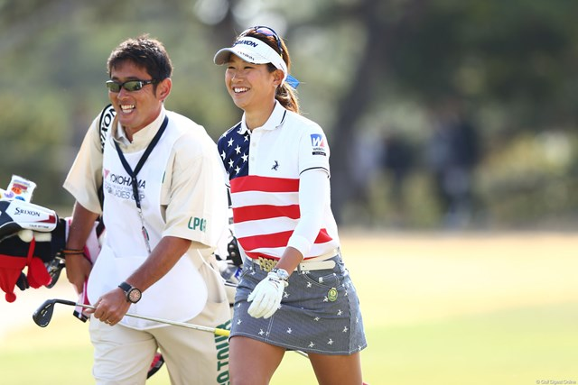 2013年 ヨコハマタイヤゴルフトーナメントPRGRレディスカップ 最終日 木戸愛 いい笑顔だね、3アンダー25位T